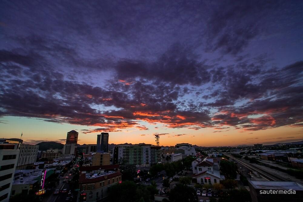 Tucson Sunset by sautermedia