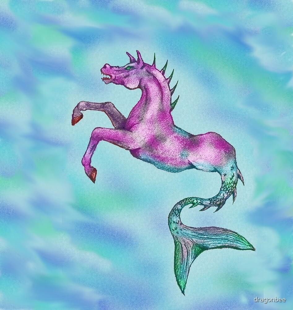 Pastel Kelpie Digital Drawing by dragonbee