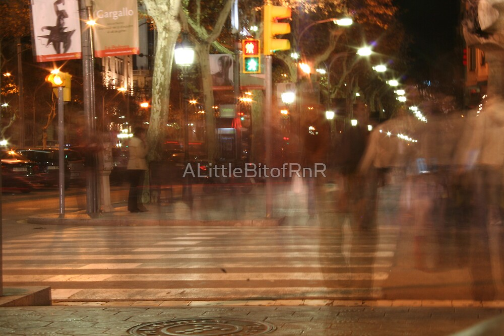 Ghosts of Barcelona  by ALittleBitofRnR