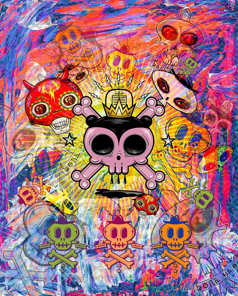 The Skulls Abide by Ruffmouse