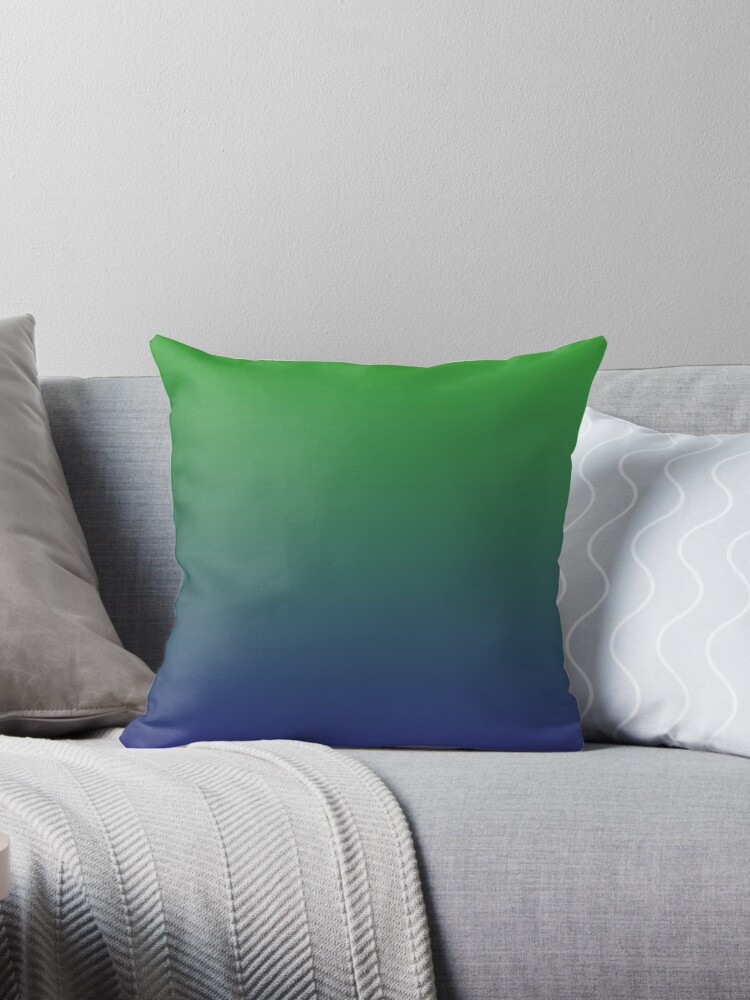 Ombre   Green and Blue by EclecticAtHeART