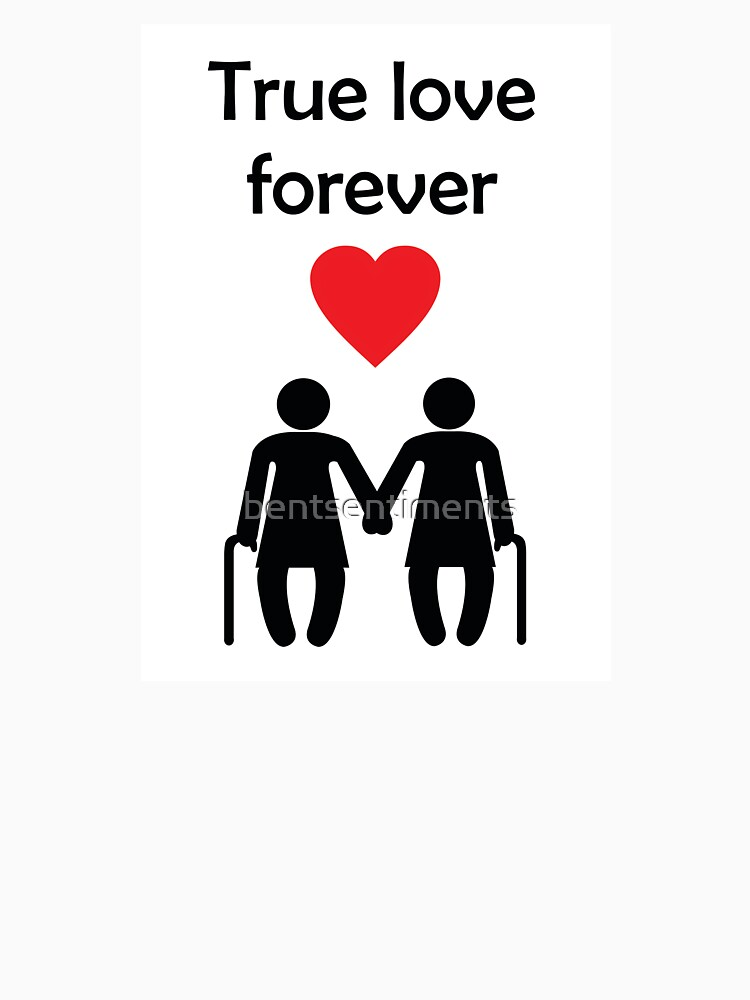 True Love Forever Lesbian Love Greeting Card From Bent