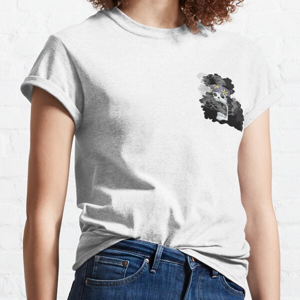 Smoking Skull Brook Classic T-Shirt
