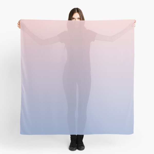 Ombre | Gradient Colors | Rose Quartz and Serenity | Pantone Colors of the Year 2016 | Pantone | Color Trends | Fashion Colors | Scarf