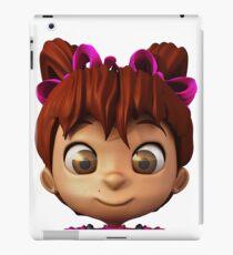 Cartoon Girl iPad Case/Skin