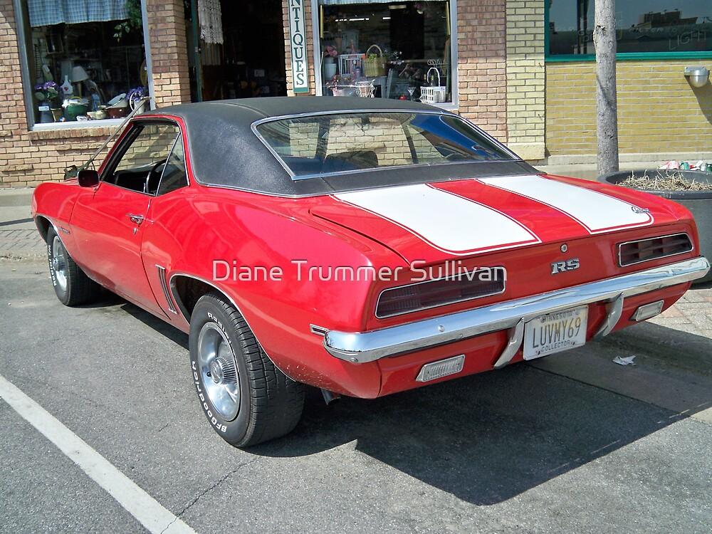 MY 1969  camaro @ shop by Diane Trummer Sullivan