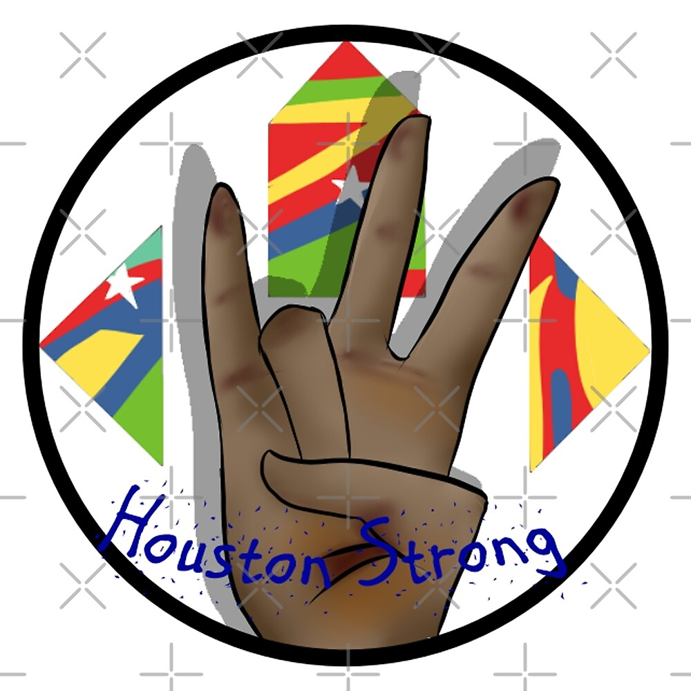 Houston Strong by Agenderedking