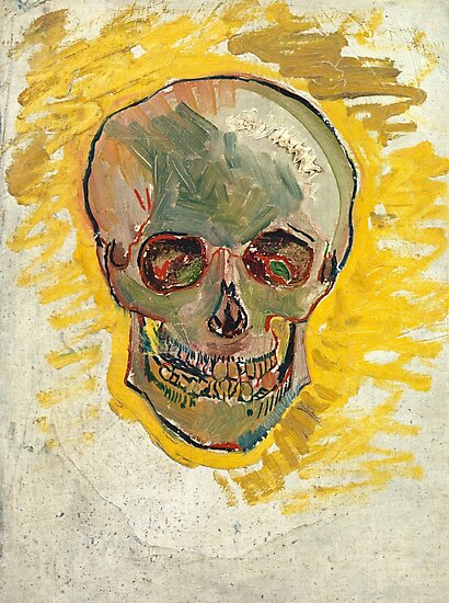 Vincent Van Gogh Skull  by fineearth