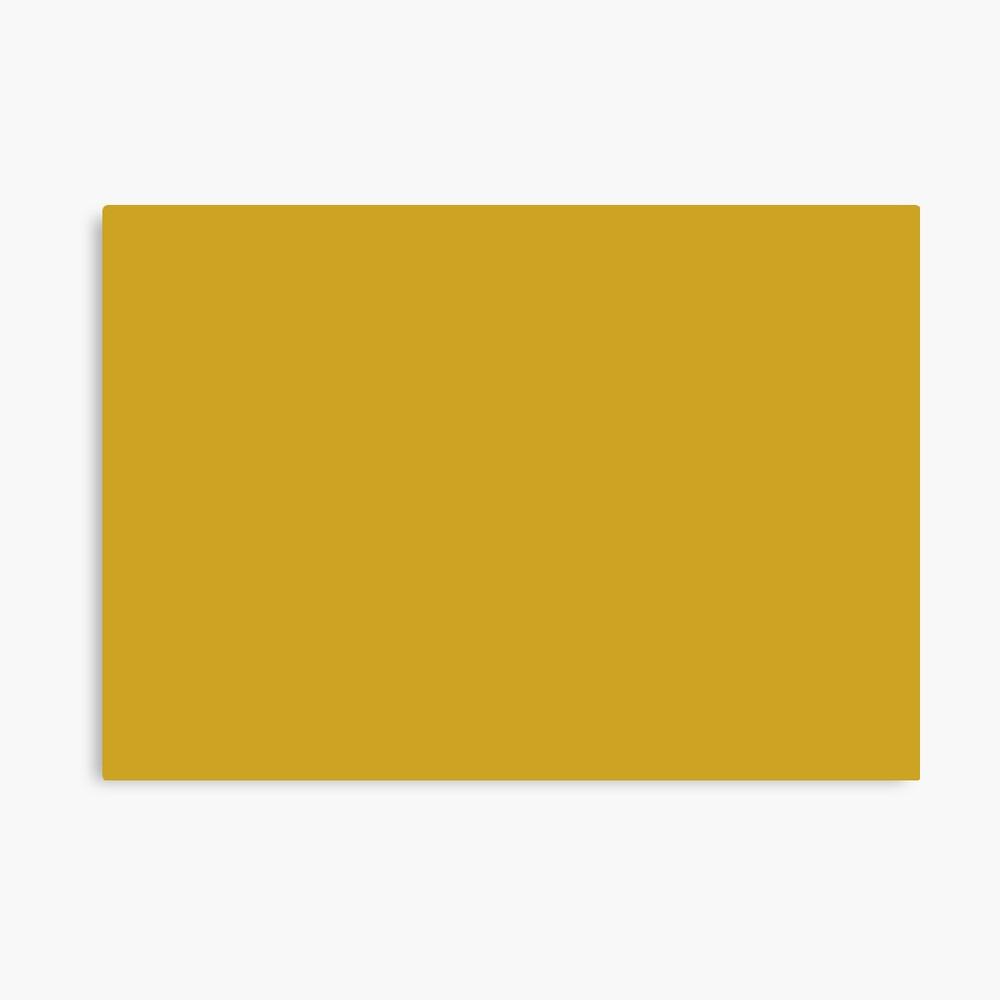 Lemon Curry 15-0751 TCX | Pantone | Color Trends | London | Fall Winter 2017 | Solid Color | Fashion Colors | Canvas Print