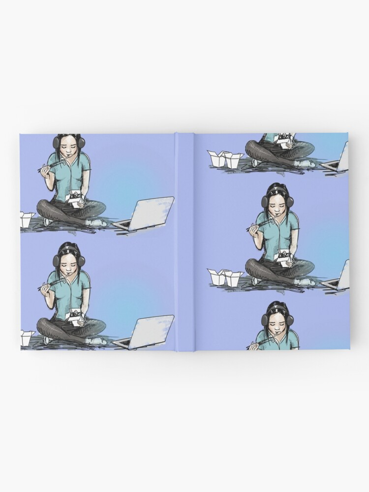 Alternate view of Chinese food and movie night Hardcover Journal
