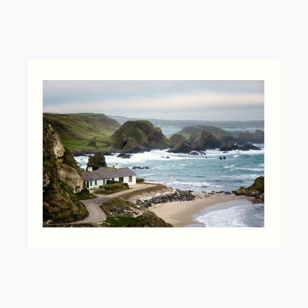 Ballintoy Harbour , County Antrim , Northern Ireland Art Print