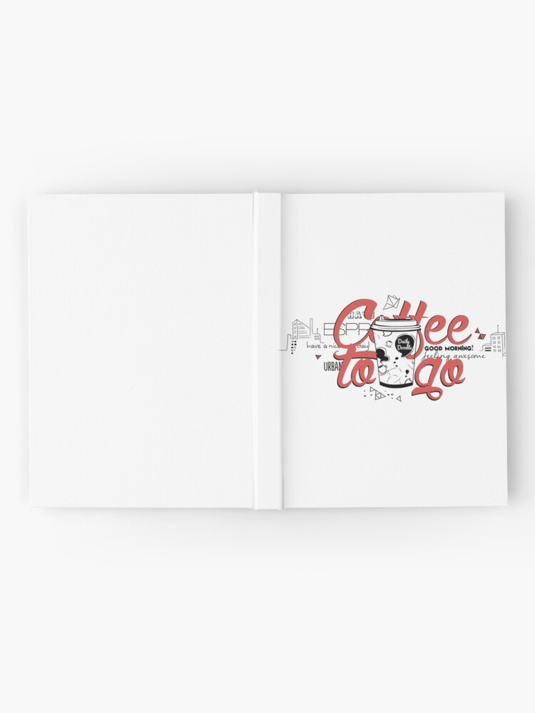 Alternate view of Coffee to go Hardcover Journal
