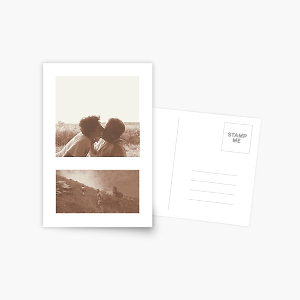 Ruf mich mit deinem Namen an - Elio & Oliver Postkarte