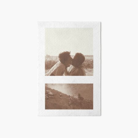 Call Me By Your Name - Elio & Oliver Art Board Print