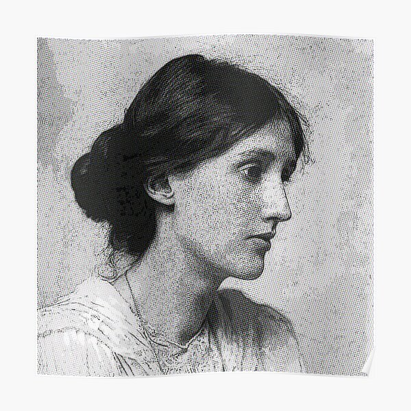 Virginia Woolf Póster