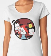Yakko, Wakko and Dot Women's Premium T-Shirt