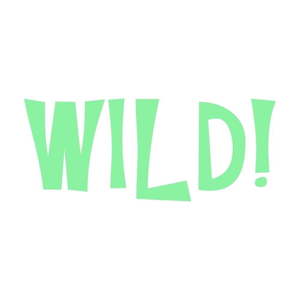 Wild Text (Mint) by MackieDoore