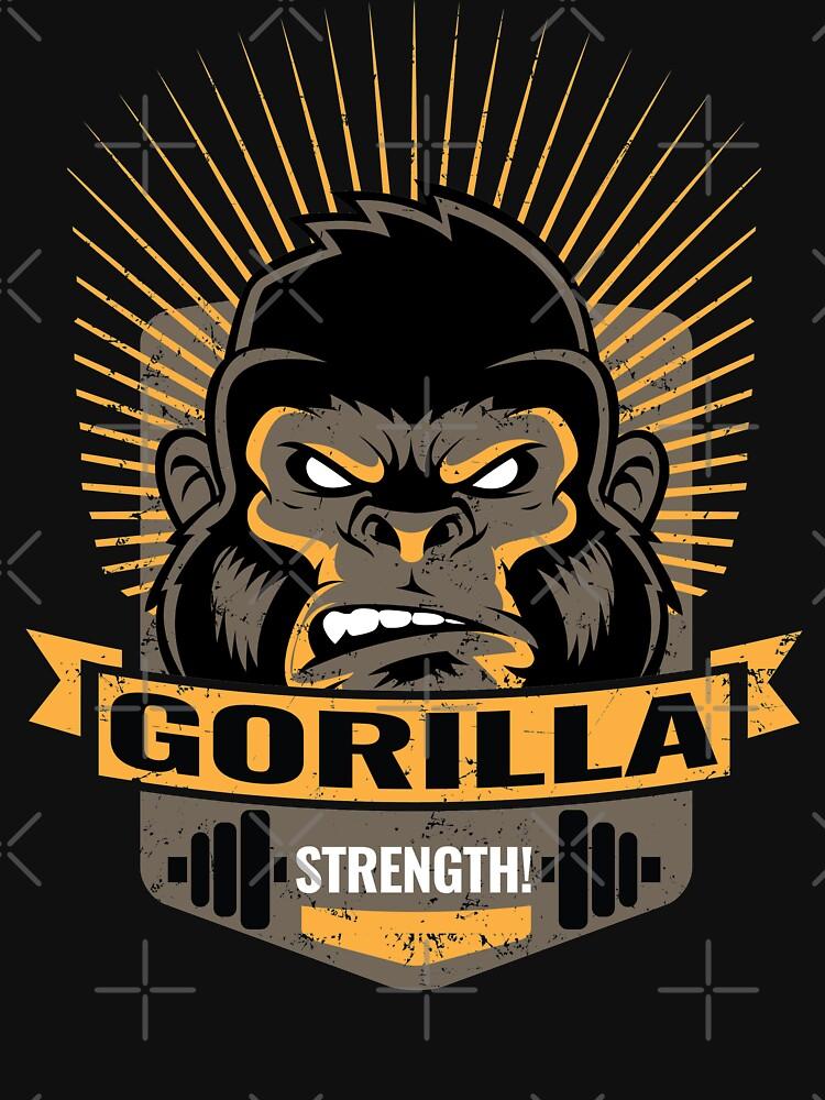 Gorilla Strength - Workout Motivation by lifestyleswag