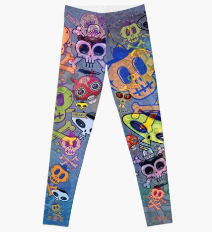 The Skulls Abide Leggings