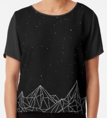 Night Court Mountains - Schwarz (ALTE VERSION) Chiffontop