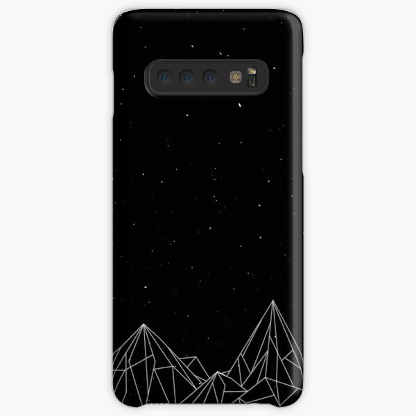 Night Court Mountains - Black (OLD VERSION) Samsung Galaxy Snap Case