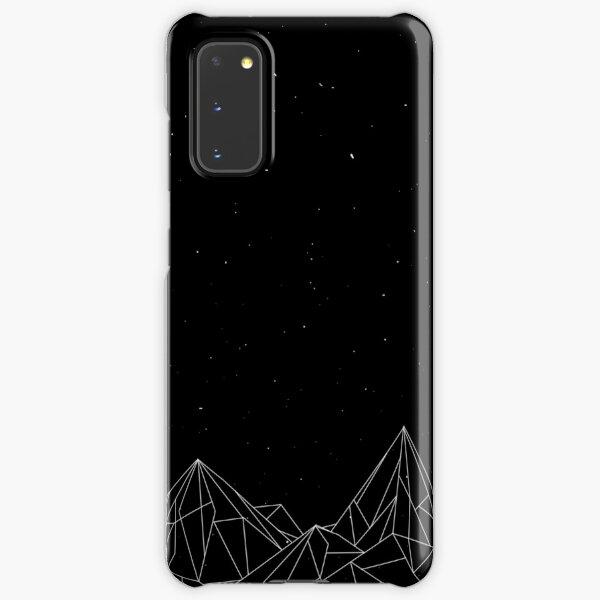 Night Court Mountains - Black (OLD VERSION) Samsung Galaxy Snap Case