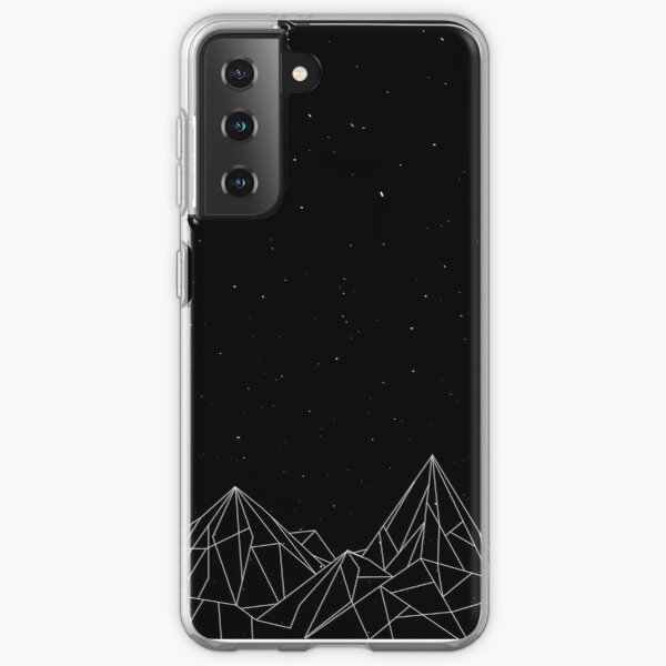 Night Court Mountains - Black (OLD VERSION) Samsung Galaxy Soft Case