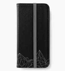Night Court Mountains - Black (OLD VERSION) iPhone Wallet/Case/Skin