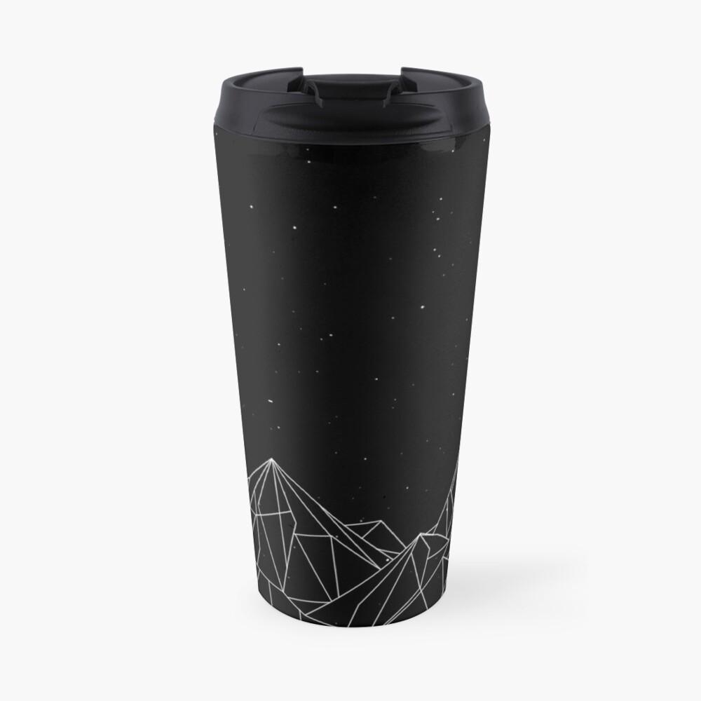 Night Court Mountains - Black (OLD VERSION) Travel Mug