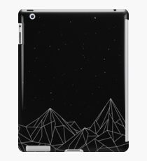 Night Court Mountains - Black (OLD VERSION) iPad Case/Skin