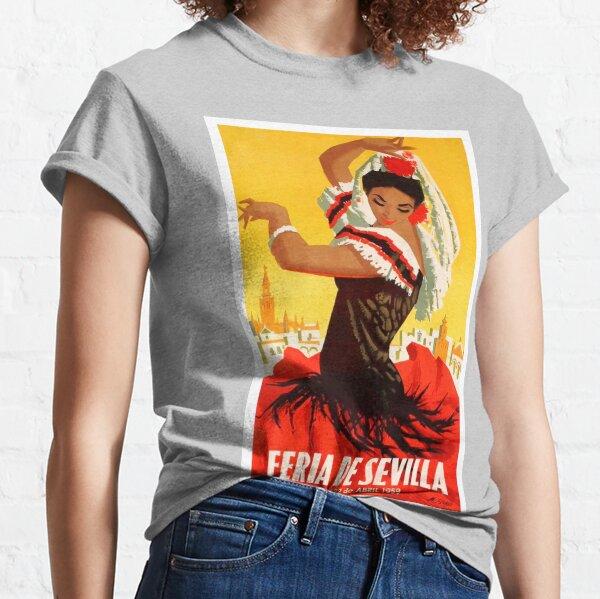 Spain 1959 Seville April Fair Poster Classic T-Shirt