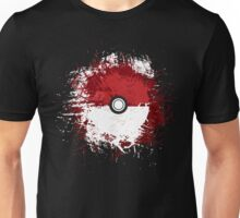 Pokeball Splat Unisex T-Shirt