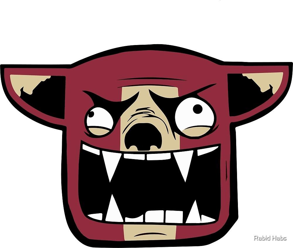 Arizona Rabid Team Logo by Rabid Habs