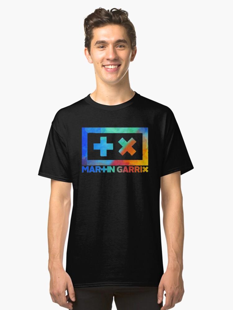 Martin Garrix - Colour Explosion Classic T-Shirt Front