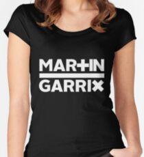 Martin Garrix - Logo Large Women's Fitted Scoop T-Shirt