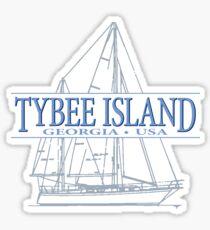 Tybee Island Georgia Sticker