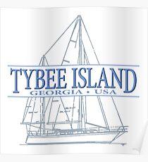 Tybee Island Georgia Poster