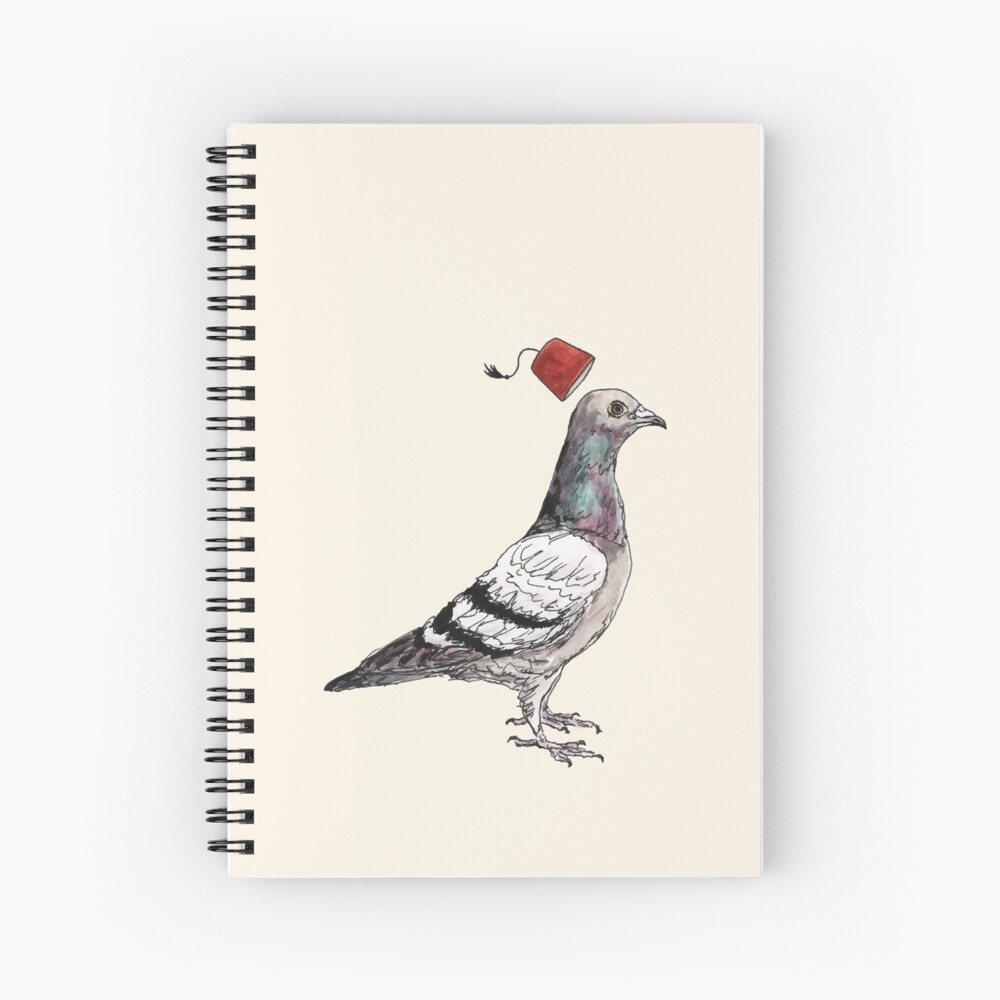 Unflappable Spiral Notebook