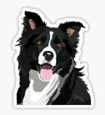 Border Collie Dog #2 Sticker