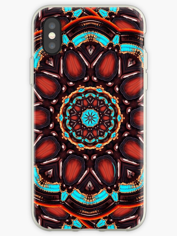 Abstract - Wood & Turquoise Pattern   by Gravityx9