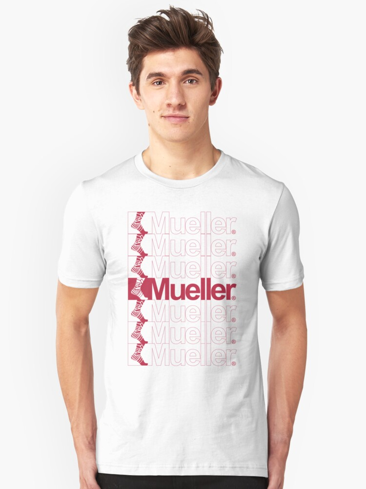 Thanks You Mueller Unisex T-Shirt Front