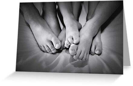 My little feet by Basia McAuley