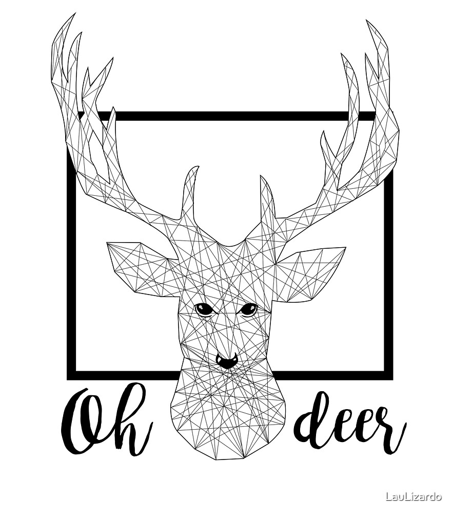 Oh Deer by LauLizardo