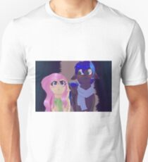 Ponys (cosmic and Fluttershy) Unisex T-Shirt