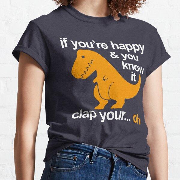 T-Rex clap your hands Classic T-Shirt