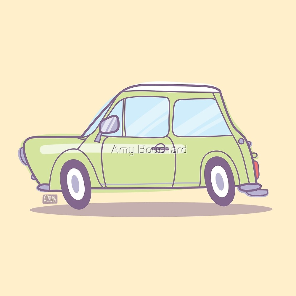 Classic Minty Cooper by Amy Bouchard