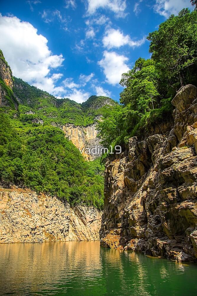 China. Yangtze River Cruise. Wushan Goddess Stream. by vadim19