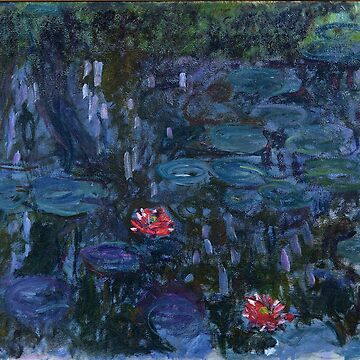 Claude Monet - Nympheas reflets de saule by mosfunky