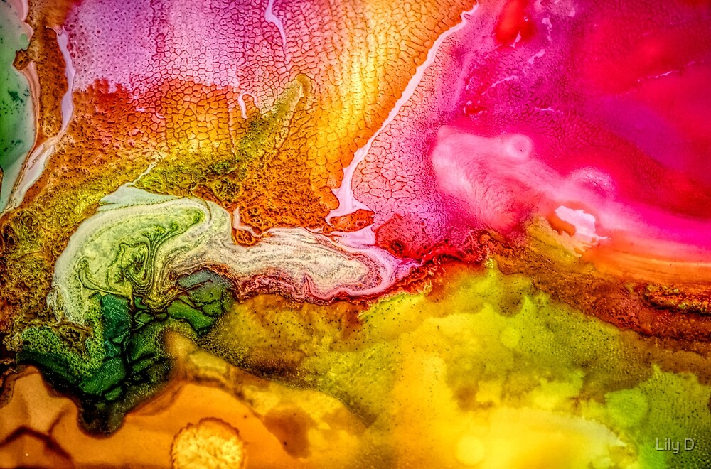 Abstract liquid painting by Art Dream Studio