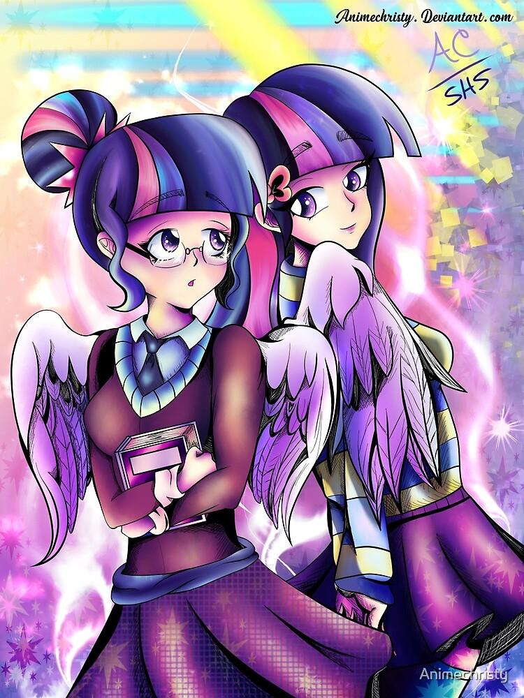 Shy Bookworm Sci&Twi by Animechristy